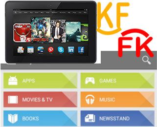 how to download apps on kindle fire