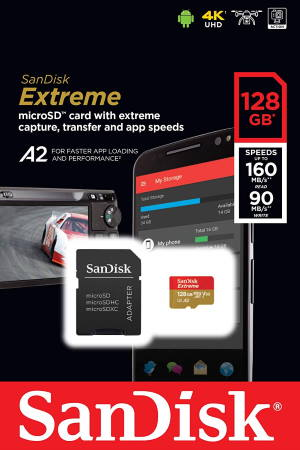 use micro SD card